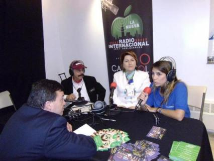 La Nueva Radio International presente en la Feria