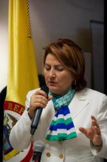 Cónsul General de Colombia en Nueva York, Elsa Gladys Cifuentes Aranzazu