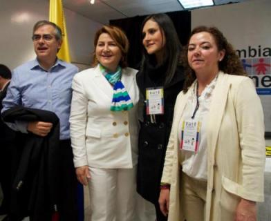 Feria de Servicios para colombianos en el exterior en Nueva York