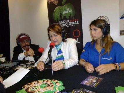 La Cónsul General de Colombia en Nueva York, Elsa Gladys Cifuentes Aranzazú en entrevista para la Nueva radio Internacional