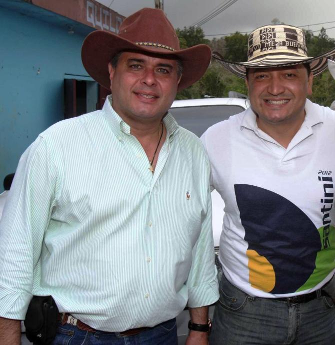 CON EL ALCALDE DE SAN JUAN H. JORGE SANTINI