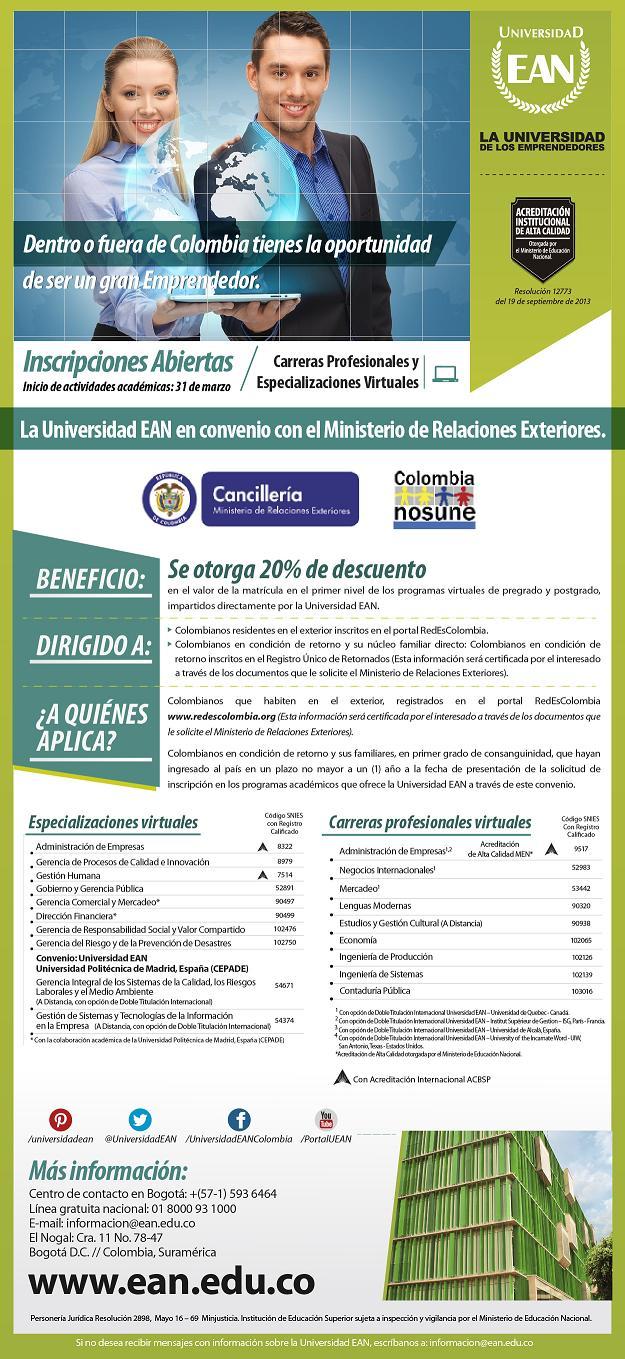Convenio Universidad EAN